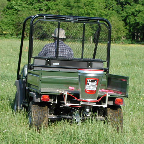 ATV carrying pesticides